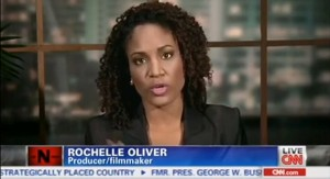 "Rochelle Oliver appeared on CNN special ""The N Word"" with host Don Lemon and guest panelists"